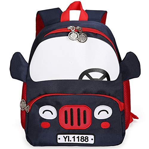 Cute Mini Pig Toddler Backpack for Girl Harness Kids Nursery Knapsack Lunch Bag