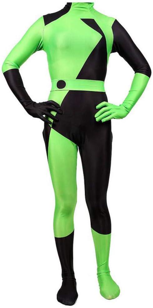 KYOKIM NiñO Adulto Kim Possible Ropa Cosplay Vestido Halloween ...