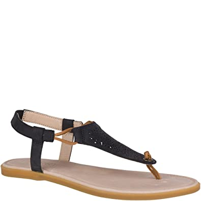 3054d8981ff5 Sperry Top-Sider Calla Jade Sandal Women 6.5 Black