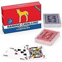 Poker Mania Shop Carte Ramino CAVALLINO ORO in PVC Masenghini