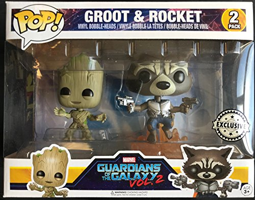 Limited Edition Rocket (Funko Pop! Groot & Rocket – Guardians of the Galaxy Vol. 2 (FYE Exclusive))