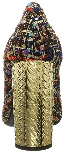 Casadei 1f273, Scarpe Col Tacco Punta Chiusa Donna Nero (Nero)