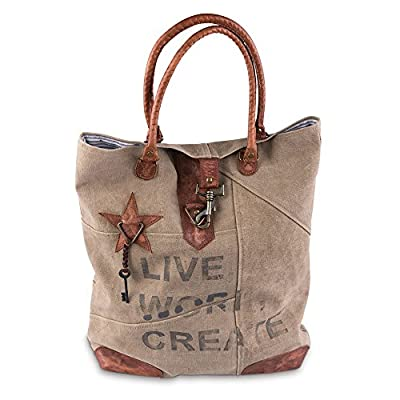 Live Work Create Tote Bag by Mona B durable modeling - shop ... bc79b12507234