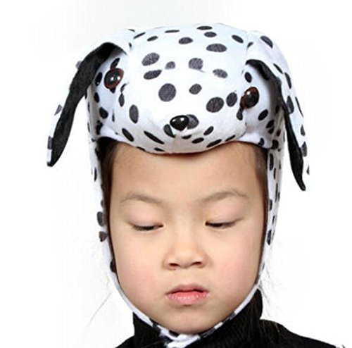 Goodscene Party decoration accessories Cute Kids Performance Accessories Cartoon Animal Hat (Dalmatians) by Goodscene