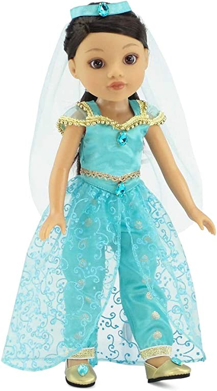 Glitter doll costume