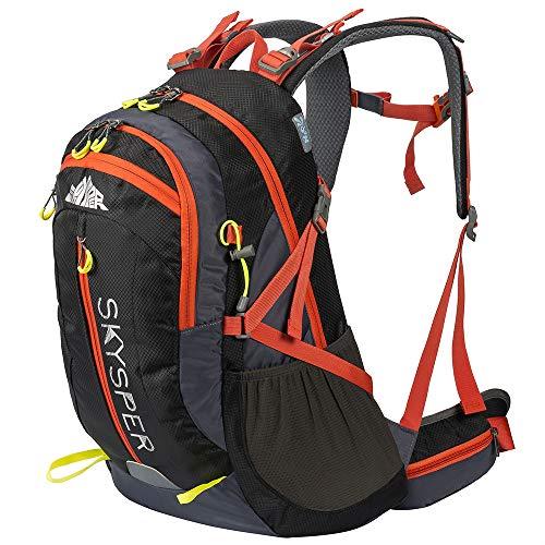 SKYSPER 40L Travel Hiking Camping Rucksack Backpack Internal Frame Water...
