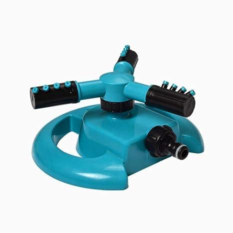 Ouken riego aspersor riego automático 360 grados giratoria regador de césped riego en jardín