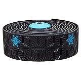 SUPACAZ Unisex's Galaxy Handlebar Tape, Black/Blue, one size