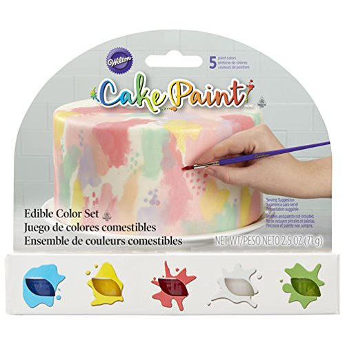 Price comparison product image Edible Cake Paint,  Primary Color Set of 5 by Wilton