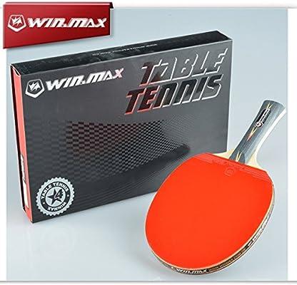 Win.Max 4 Star mango largo Table Tennis Racket goma Ping Pong ...