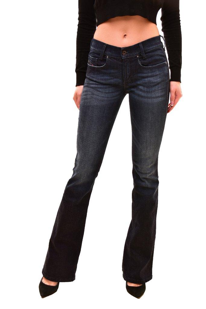 Diesel Women's Authentic Louvboot L.32 Jeans Blue Size W26 L32