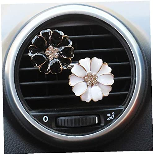 Aisoway Auto Duft Diffusor Gänseblümchen Blumen Auto Innenluft Entlüftungsöffnung Fragrance Diffusor Luft Fresher Dekorationen Auto