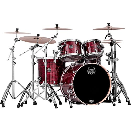 mapex-saturn-v-4-piece-rock-shell-pack-red-strata-pearl-custom-wrap
