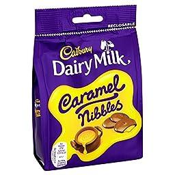 Dairy Milk Cadbury Caramel Nibbles 120 G Bag (Pack Of 6)