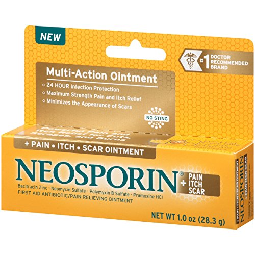 Neosporin + Pain, Itch, Scar Antibiotic Ointment, 1 Oz   PrestoMall -  Ointments & Creams