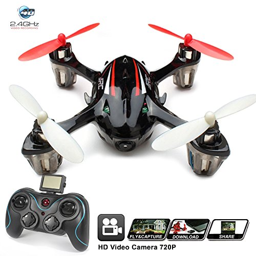 KiiToys Drone with Camera H6 Quadcopter RC Helicopter – Easy to Fly, Stable Flight, HD 2MP 720p Cam, Headless Mode (2018)