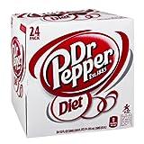 Diet Dr Pepper 12Oz 24/Case