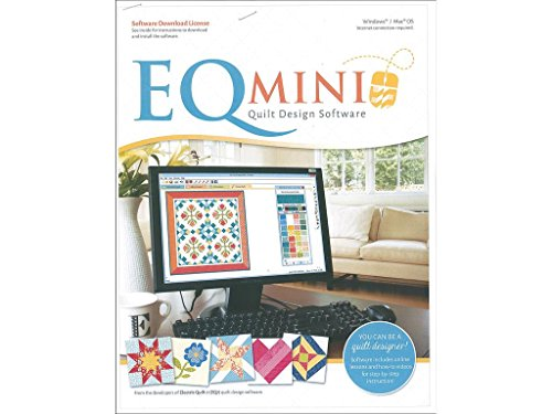 Electric Quilt Company Boye EQCEQ.MINI Electric Quilt EQ - Quilt Software