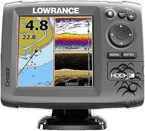 Lowrance Localizador Plotter Hook-5: Amazon.es: Bricolaje y herramientas