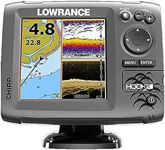 Lowrance Localizador Plotter Hook-5: Amazon.es: Bricolaje y ...
