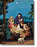 O Holy Night Advent Calendar, 7-5/8'' W x 10'' H, 12PK.
