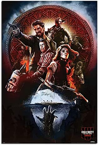 """Call of Duty Black Ops 4 Blood Of The Dead Zombies Poster 11x17/"""" 13x20/"""" 18x24/"""""""