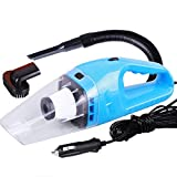 Cherni Car Vacuum Cleaner Handheld Portable 120W Mini Dirt Devil Vacuum with 16ft Power Cable (Blue)