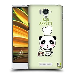 Head Case Designs Chef Kawaii Panda Protective Snap-on Hard Back Case Cover for Sharp Aquos Serie SHL25 LTE