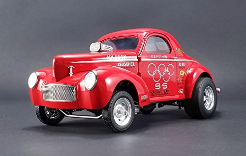 1941 Gasser S&S Raacing K.S. Pittman Diecast Model Car by Acme in 1:18 Scale