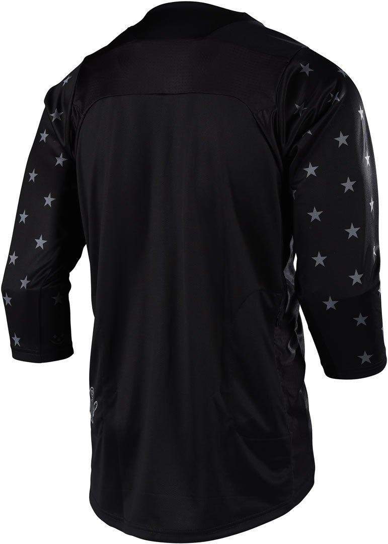 Troy Lee Designs Ruckus Star Mens BMX Jersey Black//White Small 318497212