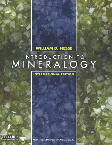 Introduction to Mineralogy, International Edition
