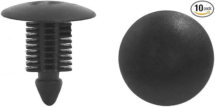 uxcell 98Pcs Plastic Rivet Mud Flaps Fender Clips 10mm