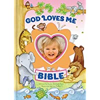 God Loves Me Bible: Newly Illustrated Edition Pink
