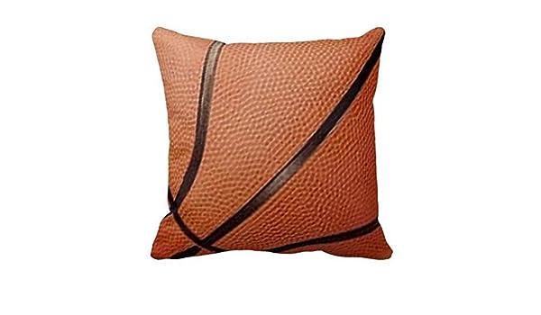 Diseño de balón de baloncesto suave manta decorativa Funda ...