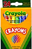 Crayons 24 count boxed - Crayola 48 pcs sku# 1334663MA