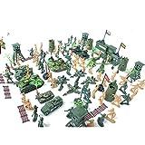 Generic 122Pcs/Lot Army Combat Game Toys Soldier Set 6Cm