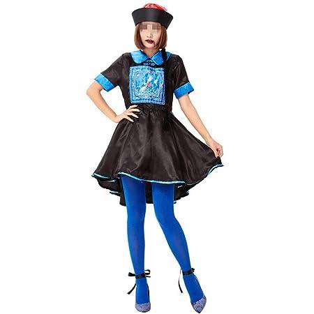 Disfraz de Halloween para Mujer Vestido de Halloween de Manga ...