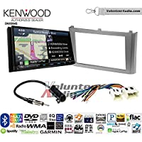 Volunteer Audio Kenwood Excelon DNX994S Double Din Radio Install Kit with GPS Navigation Apple CarPlay Android Auto Fits 2000-2003 Nissan Maxima (Without Bose)