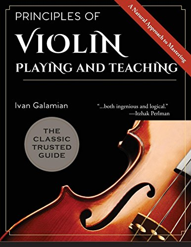 Principles of Violin Playing and Teaching [Galamian, Ivan] (Tapa Blanda)