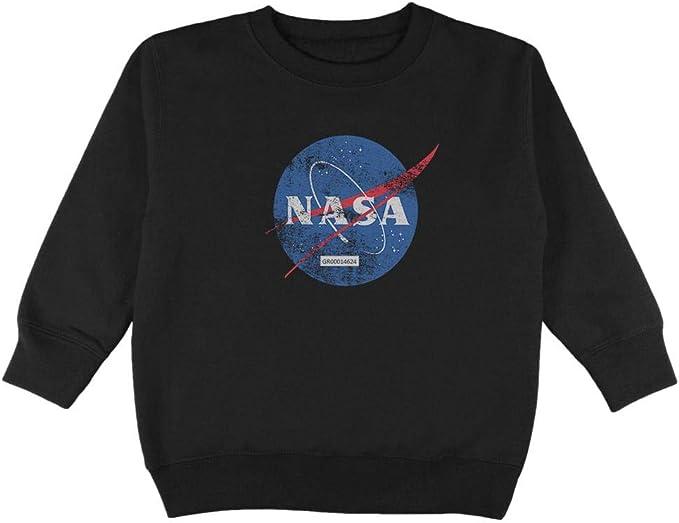 NASA Logo Black Toddler T-Shirt