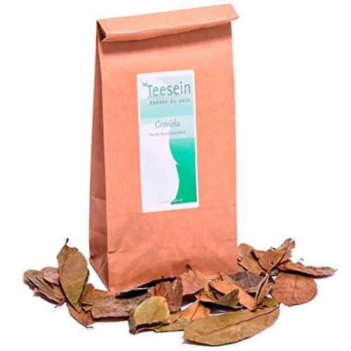 Graviola Tee von TEESEIN® | 200 Gramm | Schonend getrocknete Blätter mit vollem Wirkstoffgehalt | verschiedene Größen verfügbar | Superfood in Premium Qualität