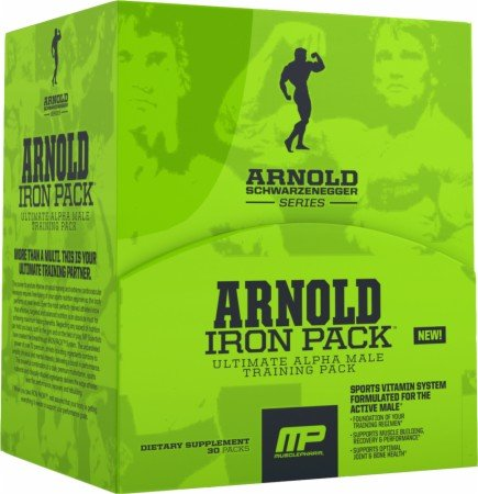 Muscle Pharm Fer paquet Supplément Diet, 30 Count