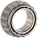 This Timken 2700 Series single cone with a stamped steel cage matches with a single cup (outer ring, sold separately) to assemble into a complete single tapered roller bearing, suitable for applications that support both radial and ax...
