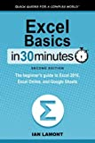Excel Basics In 30 Minutes (2nd Edition): The quick