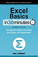 Updated!Here's your chance to finally learn how to use Microsoft Excel! In a single sitting, this quick and easy user guide will help you learn MS Excel basics, from navigating the home screen to working with formulas and charts. It's a great...