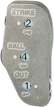 Markwort Stainless Steel 3-Dial Raised Letters
