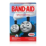(US) Band-Aid Brand Adhesive Bandages Featuring Thomas & Friends, Assorted Sizes, 20 Count