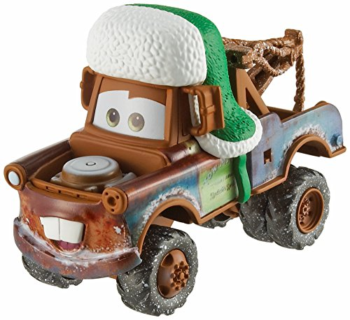 Disney Pixar Cars 3 Holiday Die-Cast Singles Holiday Mater with Hat (Cast Cars)