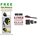 Liftmaster LA400PKGU Swing Gate Opener Kit - 2 FREE Liftmaster 811LM Remotes & Includes A FREE Heavy Duty FAS Tape Measure (Part# FAS-TMPROMO18)
