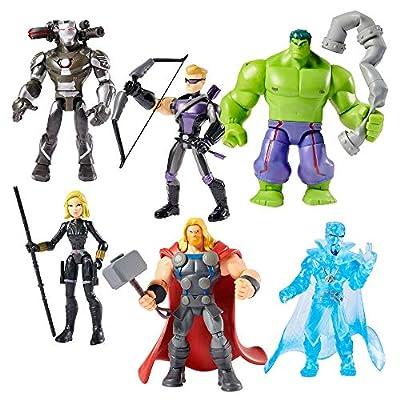 Marvel Avengers Toybox Action Figure Gift Set